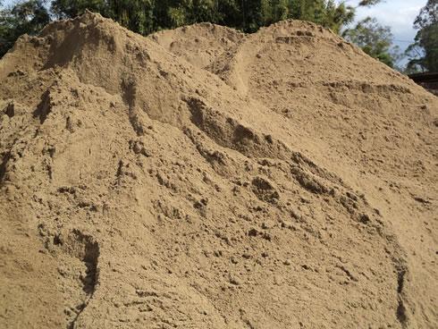 Areia em Curitiba