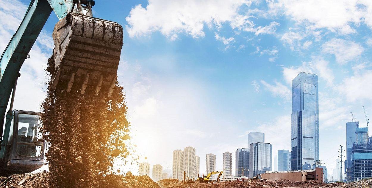 Conheça a importância da terraplanagem na construção predial
