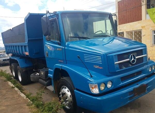 Locação de Caminhão Caçamba Truck em Curitiba